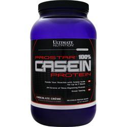 Ultimate Nutrition ProStar - 100% Casein Protein Chocolate Creme 2 lbs