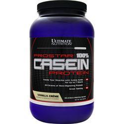 Ultimate Nutrition ProStar - 100% Casein Protein Vanilla Creme 2 lbs