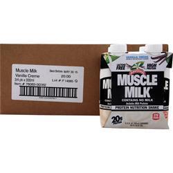 Cytosport Muscle Milk RTD Vanilla Creme (11 fl. oz) 12 cans