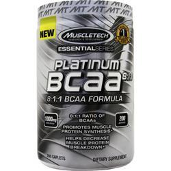 Muscletech Essential Series - Platinum BCAA 200 cplts
