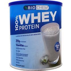 Biochem 100% Whey Protein - All Natural Vanilla Flavor 857 grams