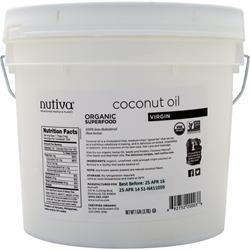 Nutiva Organic Virgin Coconut Oil Liquid 128 fl.oz