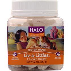 Halo Liv-a-Littles 100% Chicken Breast 2.2 oz