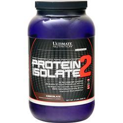 Ultimate Nutrition Protein Isolate - Platinum Series Chocolate 2 lbs