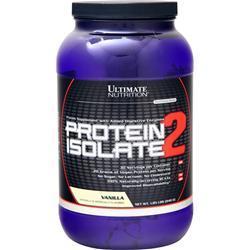 Ultimate Nutrition Protein Isolate - Platinum Series Vanilla 1.85 lbs