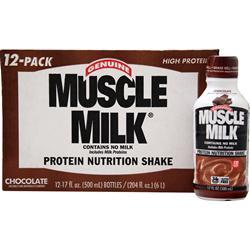 Cytosport Muscle Milk RTD Chocolate (17 fl. oz.) 12 bttls
