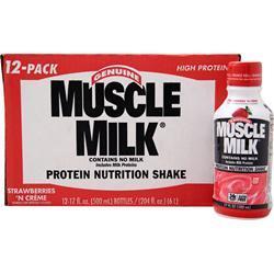Cytosport Muscle Milk RTD Strawberries 'N Creme (17fl.oz) 12 bttls