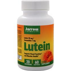 Jarrow Lutein (20mg) 60 sgels