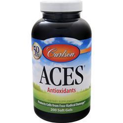 Carlson ACES - Vitamins A, C, E plus Selenium 200 sgels