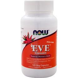 Now Eve - Women's Multivitamin (Iron-Free) 120 vcaps