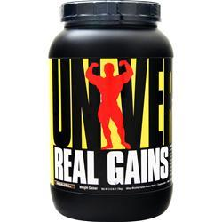 Universal Nutrition Real Gains Chocolate Ice Cream 3.8 lbs