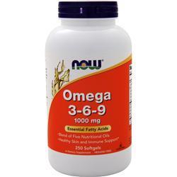 Now Omega 3-6-9 (1000mg) 250 sgels