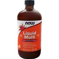 Now Liquid Multi Tropical Orange 16 fl.oz