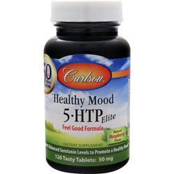 Carlson 5-HTP Elite - Healthy Mood Raspberry 120 tabs