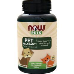 Now Pets Pet Relaxant for Dogs/Cats 90 tabs
