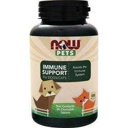 Now Pets Immune Support for Dogs/Cats 90 tabs