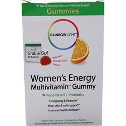 Rainbow Light Women's Energy Multivitamin Gummy Orange Zest 90 gummy