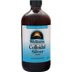Source Naturals Wellness Colloidal Silver 16 fl.oz