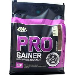 Optimum Nutrition Pro Gainer - High Protein Gainer Double Chocolate 10.16 lbs