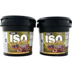 Ultimate Nutrition Iso Sensation 93 (Buy 1 get 1 Free) Chocolate Fudge 10 lbs