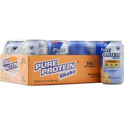 Worldwide Sports Ultra Pure Protein Shake RTD (11 fl.oz.) Banana 12 cans