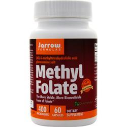 Jarrow Methyl Folate (400mcg) 60 vcaps