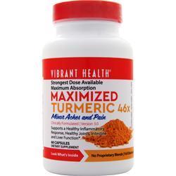 Vibrant Health Maximized Turmeric 46x 60 caps