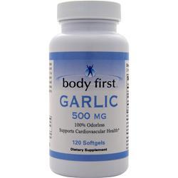 Body First Garlic (500mg) 120 sgels