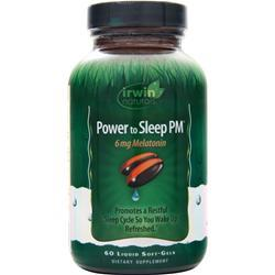 Irwin Naturals Power to Sleep PM (2mg Meletonin) 120 sgels