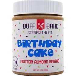 Buff Bake Protein Almond Spread Birthday Cake 13 oz