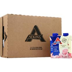 Atkins Ready To Drink Shake (RTD Tetra-Can) Strawberry 24 cans