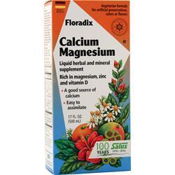 Flora Floradix Calcium-Magnesium Liquid 17 fl.oz
