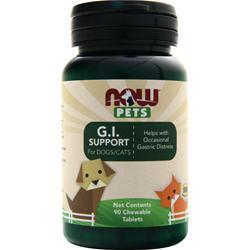 Now Pets G.I. Support for Dogs/Cats 90 tabs