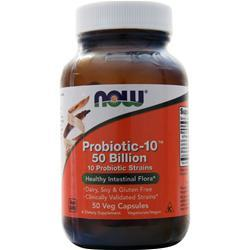 Now Probiotic-10 (50 Billion) 50 vcaps