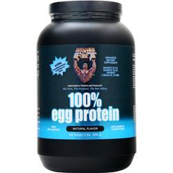 Healthy N Fit 100% Egg Protein Natural Flavor 2 lbs