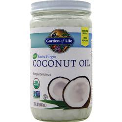 Garden Of Life 100% Organic Extra Virgin Coconut Oil 32 fl.oz