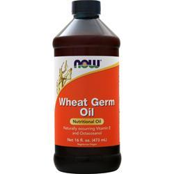 Now Wheat Germ Oil Liquid 16 fl.oz