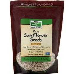 Now Sunflower Seeds - Raw Hulled Unsalted 16 oz