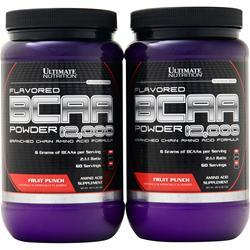 Ultimate Nutrition BCAA Powder 12,000 (Buy 1 get 1 Free) Unflavored 800 grams