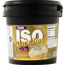 Ultimate Nutrition Iso Sensation 93 Banana Ice Cream 5 lbs