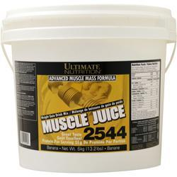 Ultimate Nutrition Muscle Juice 2544 Weight Gain Drink Mix Banana 13.2 lbs