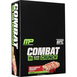 Muscle Pharm Combat Crunch Bar White Chocolate Raspberry 12 bars