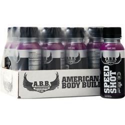 American Bodybuilding Speed Shot RTD Grape Frost 12 bttls