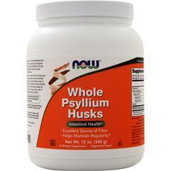 Now Whole Psyllium Husks 12 oz