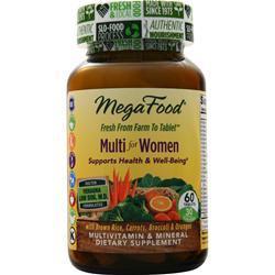 Megafood Multi for Women 60 tabs