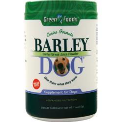 Green Foods Barley Dog 11 oz