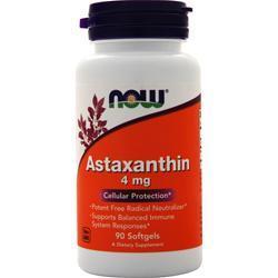 Now Astaxanthin (4mg) 90 sgels