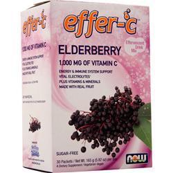 Now Effer-C Elderberry 30 pckts