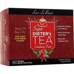 Laci Le Beau Super Dieter's Tea Cleanse Cranberry Twist 60 pckts