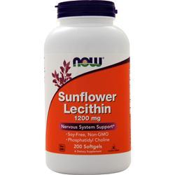 Now Sunflower Lecithin 200 sgels
